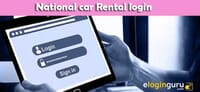 National car Rental login