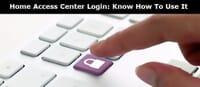 Home Access Centre Login